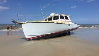 Florida Man Drinks A Couple Four Lokos, Blacks Out, Steals A Boat, Crashes It Onto Beach