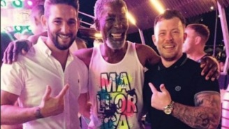 Dude Mistaken For Morgan Freeman On Bachelor Party Becomes The Most Popular Dude On Spanish Island