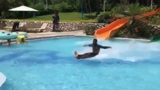 Guy Who Went Viral For His MIND-BOGGLING Water Slide Exit Has Been Found, And He's 100% Legit