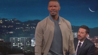 Jamie Foxx Does An Incredible LeBron James Impersonation And Has A Special Song For Cleveland