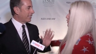 Jerry Seinfeld's Explanation For His Brutal Snubbing Of Kesha And Her Hugs Is Pure 'Seinfeld'