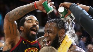 ESPN Writer Claims The Cavs Locker Room Reeked Of Weed Following Their Game 2 Loss