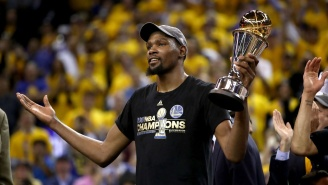 For Some Reason, Kevin Durant Spent Hours Tweeting At Trolls, Haters And About One Gross Rumor