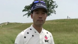 PGA Tour Pro Kevin Na Is Very Unhappy With The Rough At The 2017 U.S. Open