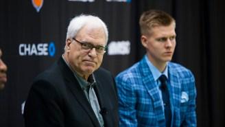 Knicks Fans Are Enraged On Twitter Over The Kristaps Porzingis Trade Rumors