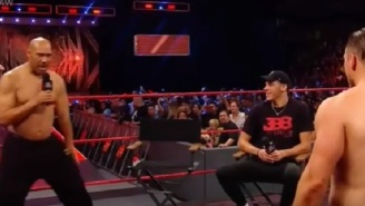 Watch LaVar Ball Go Shirtless And Get Into A Yelling Match With 'The Miz' During His Appearance On WWE Raw