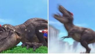 Mario Transforms Into A T-Rex In Mind-Blowing New 'Super Mario Odyssey' E3 Trailer