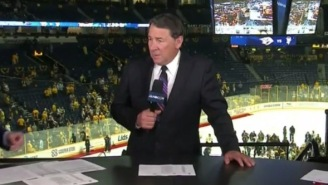Mike Millbury Gets Destroyed By An Angry Predators Fan While Live On Air