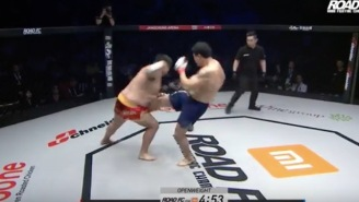 MMA Fight Ends In Just Seven Seconds After Dude Takes A Devastating Kick To The Groin