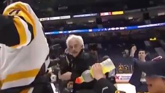 Best Gatorade Celebration Shower Of All-Time Happened After The Penguins Won The Stanley Cup