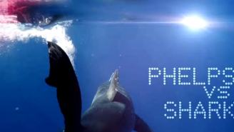 Watch First Trailer For Michael Phelps Vs Great White Shark, Olympian May Cheat To Compete