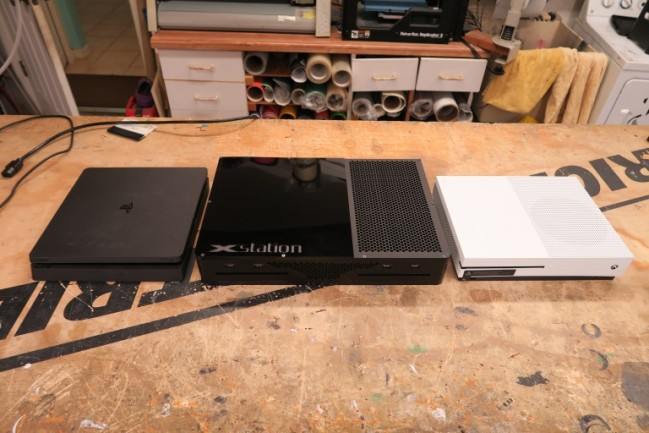 xbox one ps4 combo console
