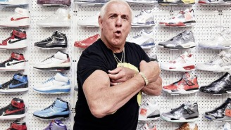 Ric Flair Goes Sneaker Shopping — Can I Get A 'WOOOO!'