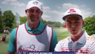 Rickie Fowler And J.R. Smith Helped Reunite A Military Family On The Golf Course And Now I Have Chills