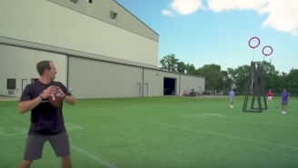 Drew Brees Made A Trick Shot Video With Dude Perfect