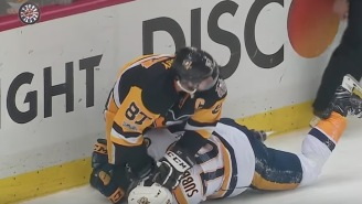 Sidney Crosby Rubbed PK Subban's Face In The Ice While Punching Him In The Head