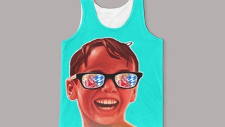 This 'Squints' Sandlot Tank Will Get That Hot Lifeguard's Attention, We're Sure Of It