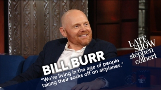 Bill Burr Had A Painfully Awkward Interview With Stephen Colbert