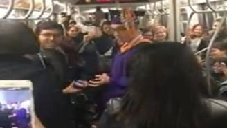 College Student Has Graduation Ceremony On Subway After Train Is Delayed For 3 Hours