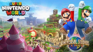 'Super Nintendo World' Theme Parks Are Coming And They Will Have Mario Kart Rides!