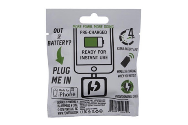 Powrtabs Disposable Battery Chargers