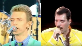 'Under Pressure' Without The Music Is Here To Crush All You Diehard Queen And David Bowie Fans