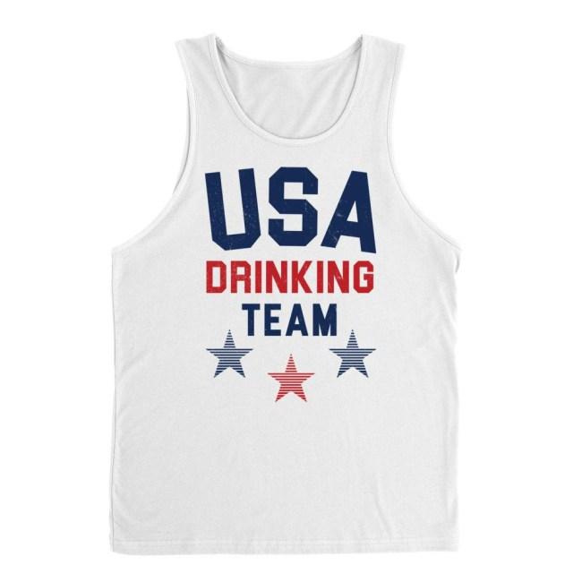 USA Drinking Team tank top