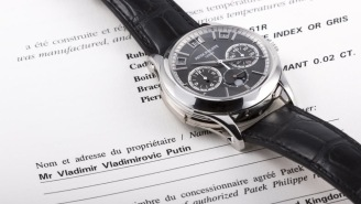 Vladimir Putin's Putting One Of The Rarest Watches On The Planet Up For Auction