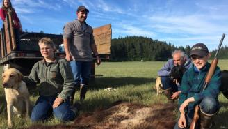 Heroic 11-Year-Old Boy Shoots Charging Bear And Saves Family From Attack