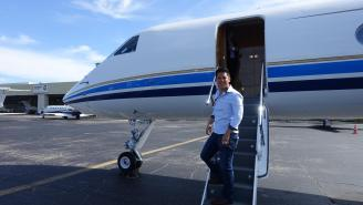 How A Travel Blogger Flew From Miami To Chicago On A Gulfstream 5 Private Jet For Free, No B.S.