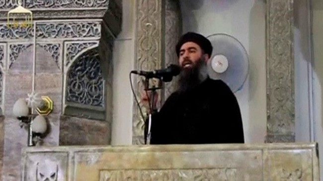 leader Islamic State ISIS Abu Bakr al-Baghdadi
