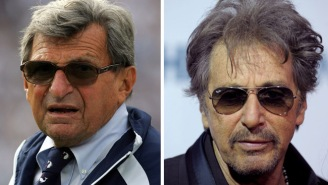 The First Pictures Of Al Pacino As Joe Paterno For An Upcoming HBO Movie Are Creepy AF
