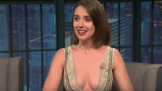 Alison Brie Talks About Landing 'GLOW' Role By Freestyling About Lady Parts