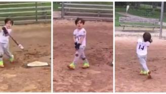 MLB Player's Young Son Just Changed The Bat Flip Game Forever