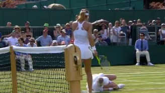 American Bethanie Mattek-Sands Repeatedly Yells 'Help Me' After Suffering Horrific Knee Injury At Wimbledon