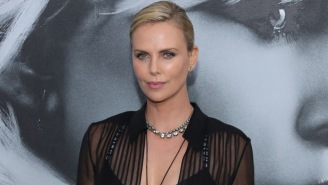 Charlize Theron Wore A Bra To Another 'Atomic Blonde' Premiere Because She's A GD Rock Star