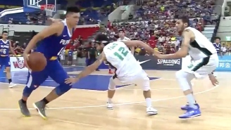 This Baller Literally Broke The Ankle Of An Opponent With A Nasty Crossover
