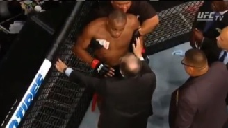 Scary Post-Fight Video Shows How Dazed Daniel Cormier Was After Getting KO'd By Jon Jones At UFC 214