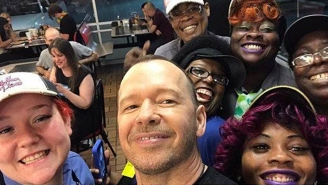 Donnie Wahlberg Gave A Very Generous $2,000 Tip At Waffle House