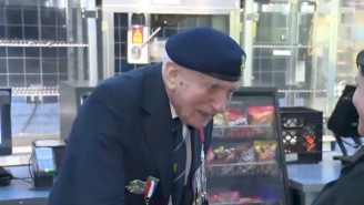 Elderly WWII Veteran Who Survived The Battle Of Dunkirk Goes To See 'Dunkirk' In The Theater