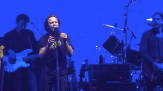 Eddie Vedder Joined Pink Floyd's Roger Waters For A Badass Rendition Of 'Comfortably Numb'