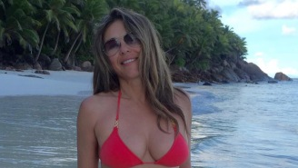 Elizabeth Hurley, 52, Continues To Light Instagram On Fire With A+ Swimwear Snaps