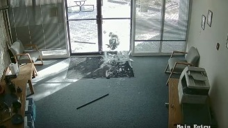 Animals Are Jerks: Goat Breaks Into Colorado Office By Smashing In Glass Doors With His Horns