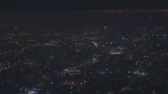 Trippy Helicopter Footage Shows The Insane Amount Of Fireworks Shot Off In L.A. On The 4th