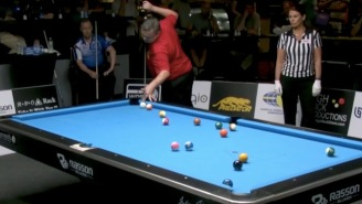 This Run Of Pool Shots Is The Most Insane Sequence Of Billiards Ever, It's Magic Or Sorcery