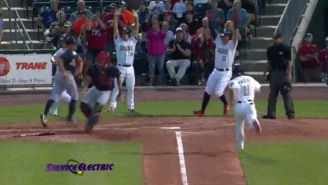 Ever Seen An Inside-The-Park Grand Slam? Because It Happened And It Was Completely Insane