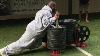 James Harrison Posts Insane Weightlifting Video That Proves He Is Not A Human Being
