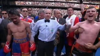 The Internet Loses Its Mind After Judges Rob Manny Pacquiao With Bogus Decision Against Jeff Horn