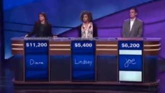 This Guy Should Lose His Man Card For This 'Jeopardy!' FAIL About Sports
