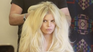 Jessica Simpson Goes Topless In The Pool As She Tells Age 36 To 'Kiss Her Butt' Good Bye